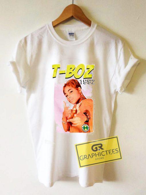 T Boz 1992 Graphic Tees Shirts