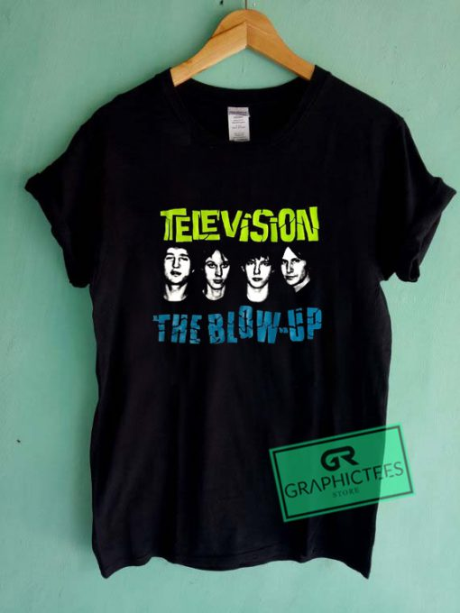 Television The Blow Up Graphic Tee Shirts