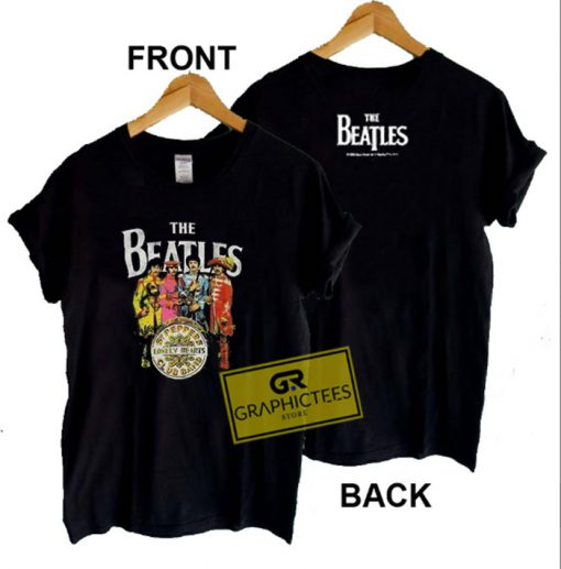 The Beatles Sgt Pepper Graphic Tees Shirts