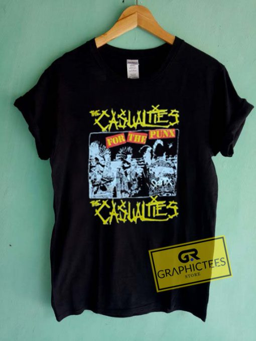 The Casualties For The Punk Graphic Tees Shirts