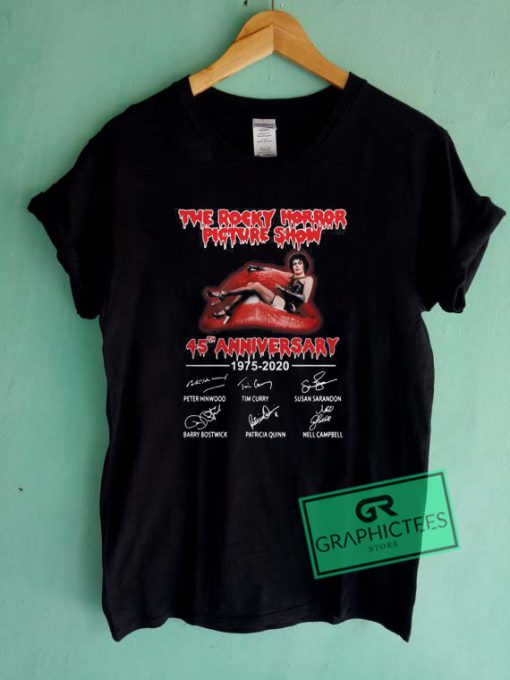 The Rocky Horror Picture Show 45th Anniversary Graphic Tee Shirts