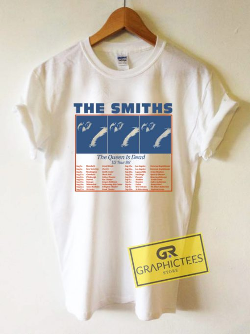 The Smith US Tour 86 Graphic Tees Shirts