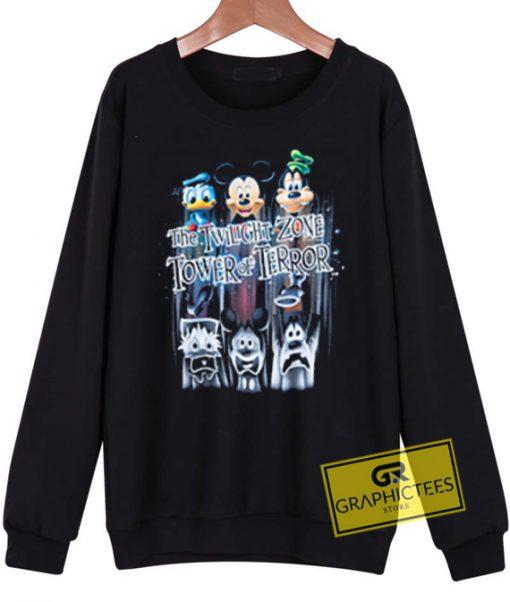 The Twilight Zone Tower Of Terror sweatshirt graphic tees