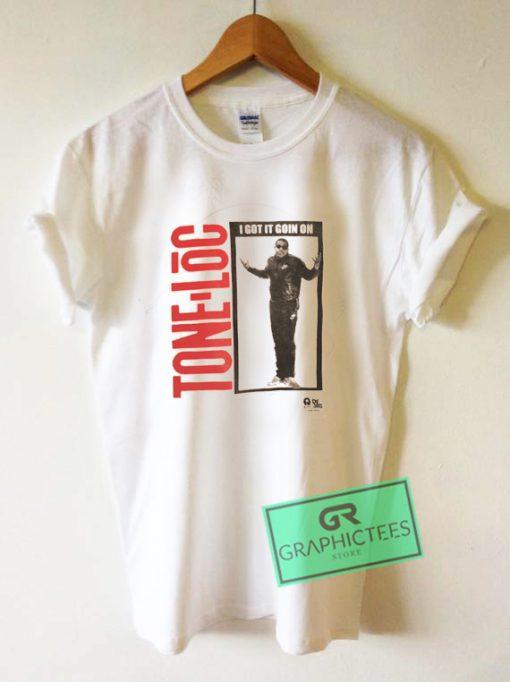 Tone Loc I Got It Goin On Hiphop rap Graphic Tee Shirts