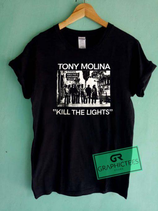 Tony Molina Kill The Lights Graphic Tee Shirts