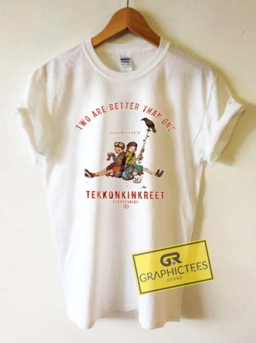 Two Are Better Than One Tekkonkinkreet Graphic Tees Shirts