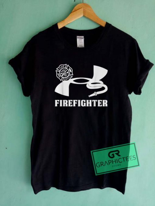 Under Armour Firefighter Graphic Tee Shirts