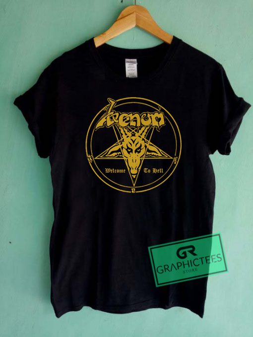 Venom Welcome To Hell Graphic Tee Shirts