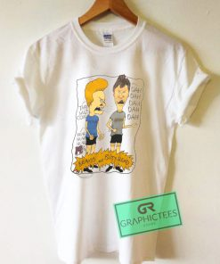Vintage Beavis and Butthead Graphic Tee Shirts