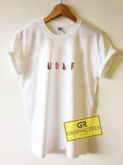 Wolf Graphic Tees Shirts