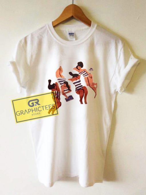 Woman Art Graphic Tees Shirts