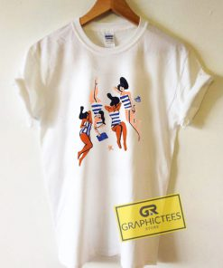 Women Virginie Morgand Graphic Tees Shirts