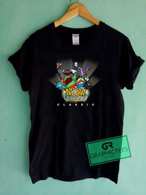 WowCraft Classic Graphic Tee Shirts