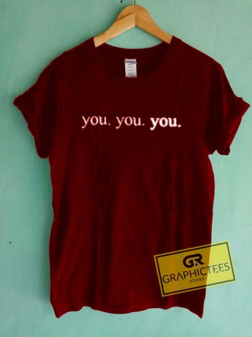 You You You Graphic Tees Shirts