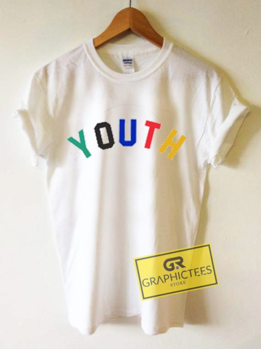 Youth Color Graphic Tees Shirts