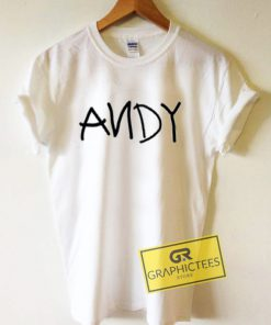 ANDY Graphic Tees Shirts