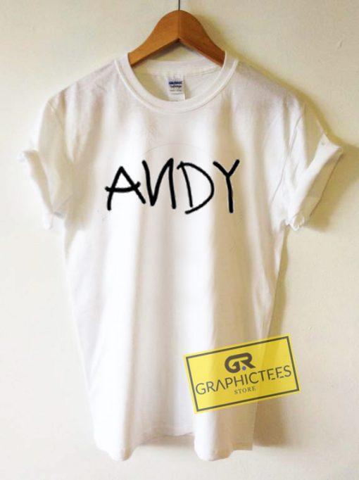 ANDY Graphic Tees Shirts