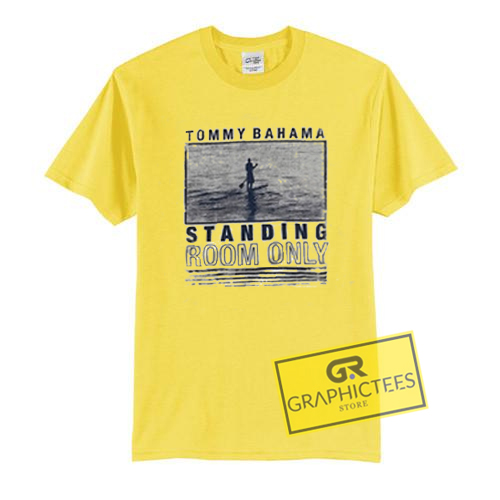 Tommy Bahama Standing Room Only Graphic Tees Shirts