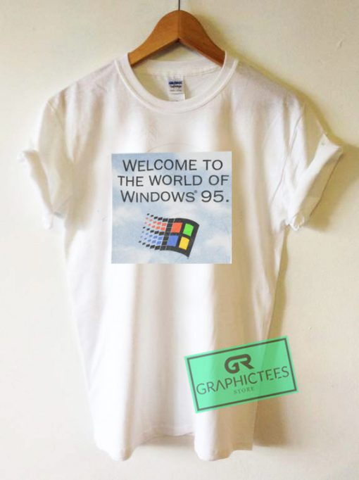 vintage 1995 windows 95 Graphic Tee Shirts