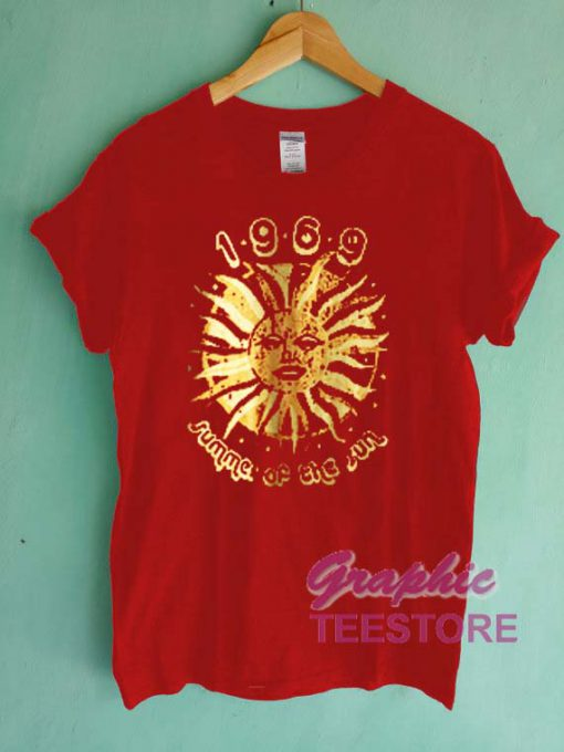 1969 Summer Of The Sun Graphic Tee Shirts