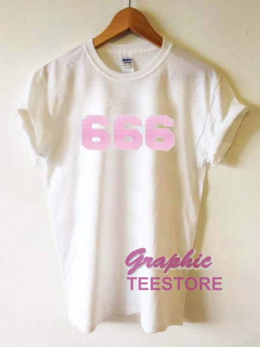 666 Graphic Tee Shirts