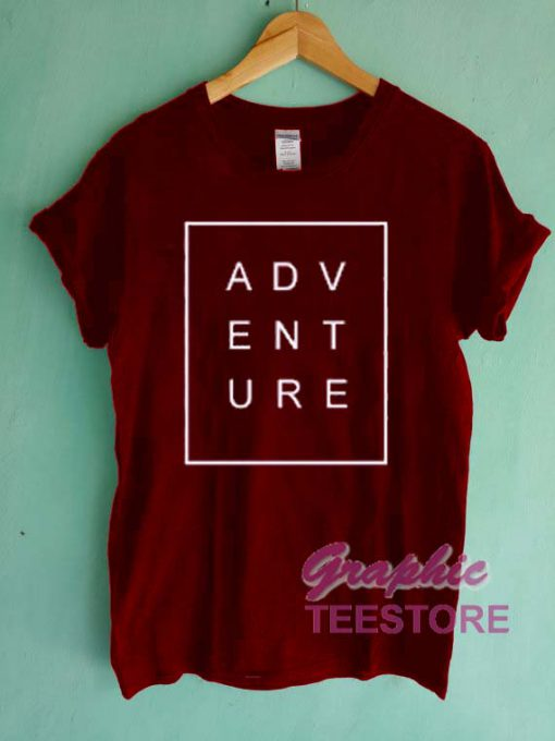 Adventure Graphic Tee Shirts
