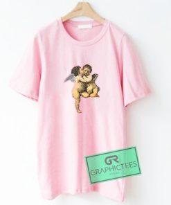 Angel Cupid Kiss Graphic Tees Shirts