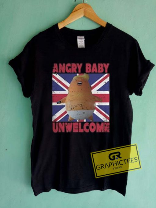 Angry Baby Unwelcome Graphic Tees Shirts