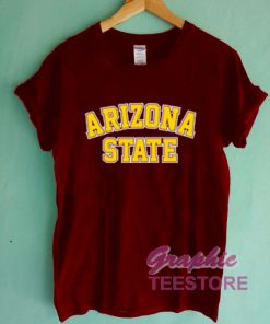 Arizona State Graphic Tee Shirts