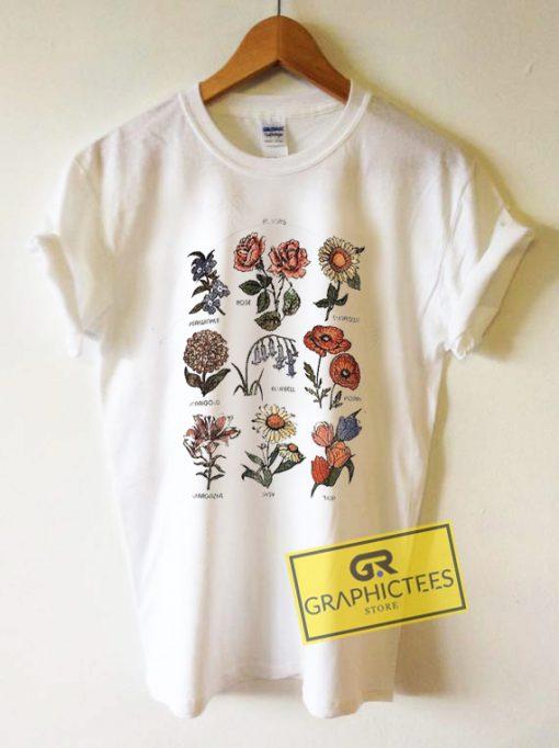 Bloom Graphic Tees Shirts