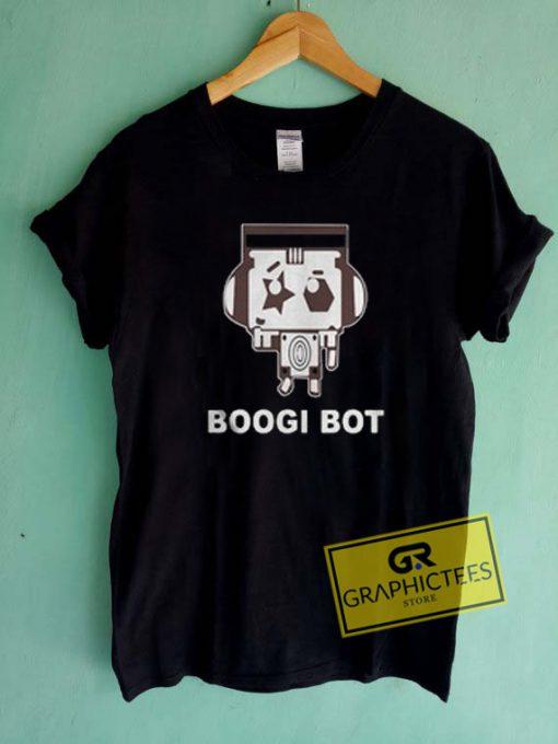 Boogi Bot Graphic Tees Shirts