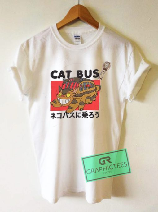 Cat Bus My Neighbor Totoro Graphic Tees Shirts