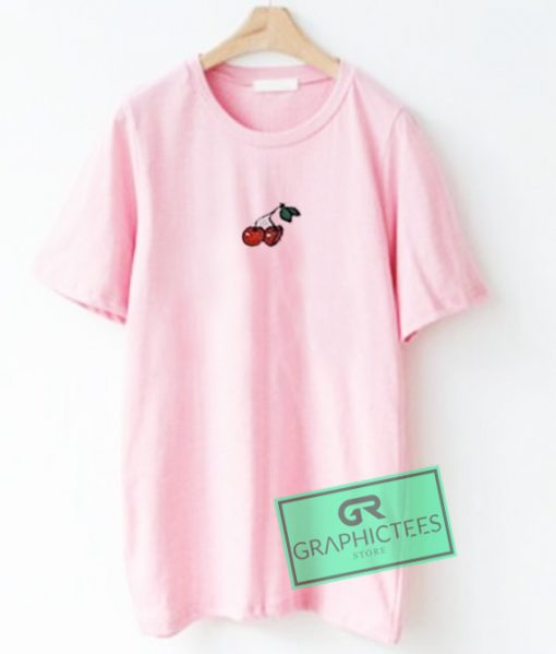 Cherry Graphic Tees Shirts