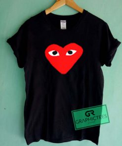 Comme Des Garcons Big Logo Graphic Tees Shirts
