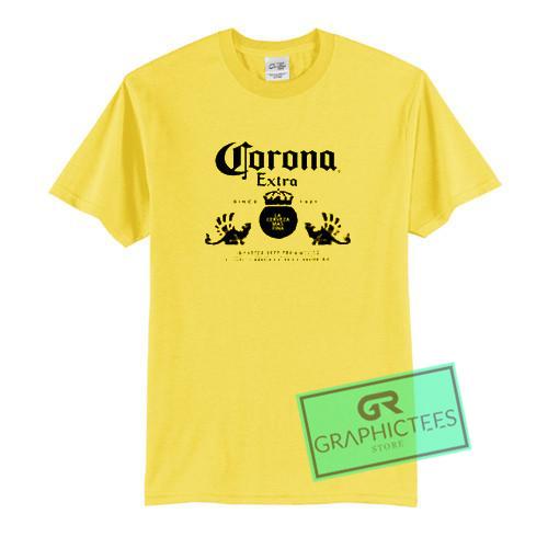 Corona Extra Graphic Tees Shirts