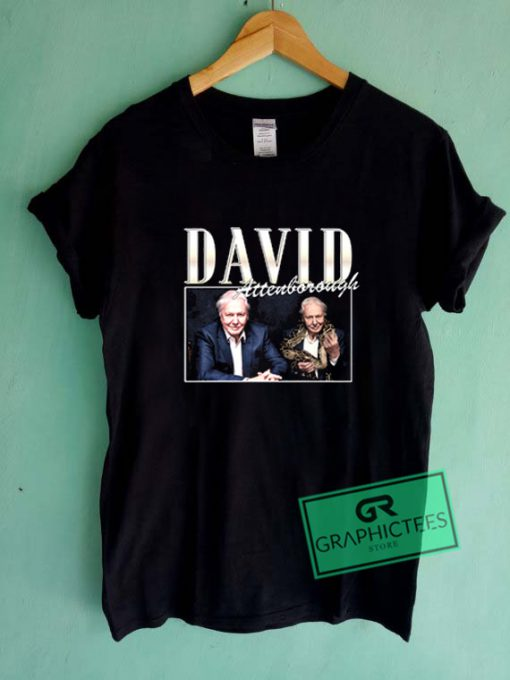 David Attenborough Graphic Tees Shirts