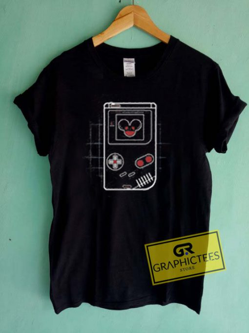 Deadmau5 Gameboy Controller Graphic Tees Shirts