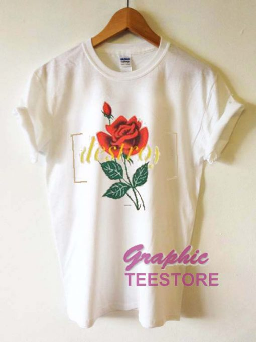 Destroy Roses Graphic Tee Shirts