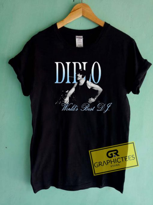 Didlo Worlds Best DJ Graphic Tees Shirts