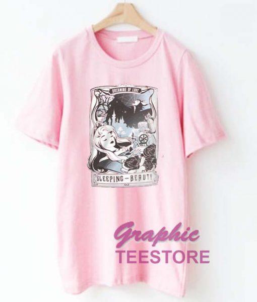 Disney Sleeping Beauty Tarot Graphic Tee Shirts