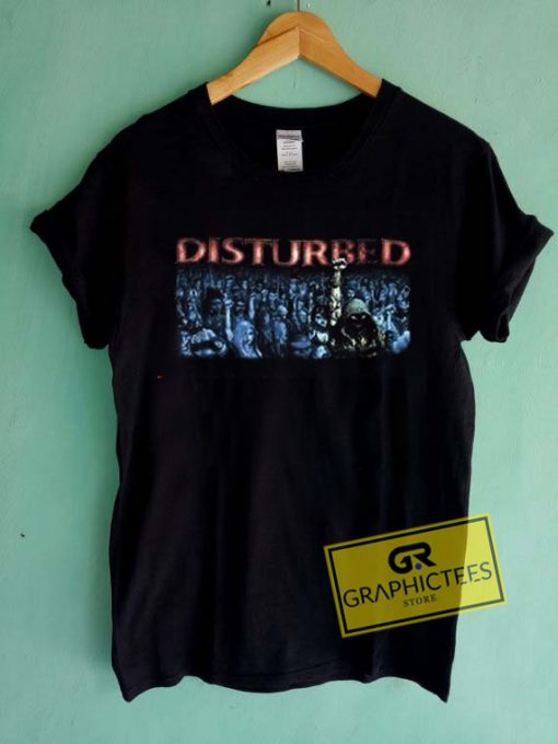 Disturbed Graphic Tees Shirts