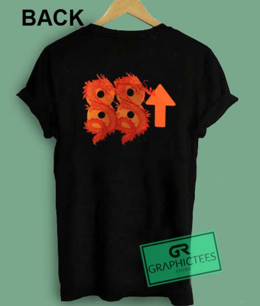 Double Dragon 88 Up Graphic Tees Shirts
