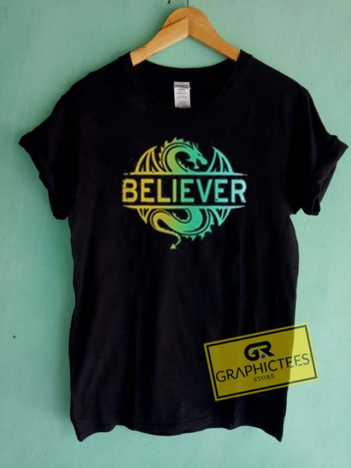 Dragon Believer Graphic Tees Shirts