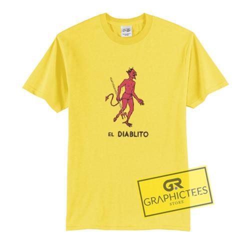 El Diablito Graphic Tees Shirts