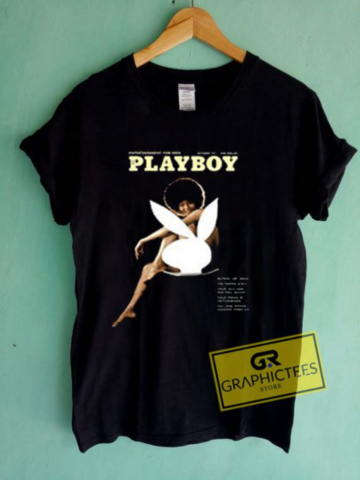 Entertainment Playboy Sportiqe October 1971 Graphic Tees Shirts