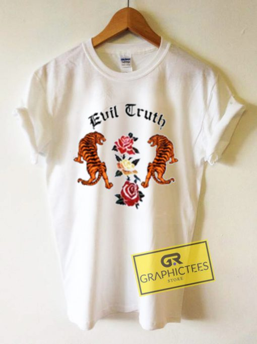 Evil Truth Printed Graphic Tees Shirts