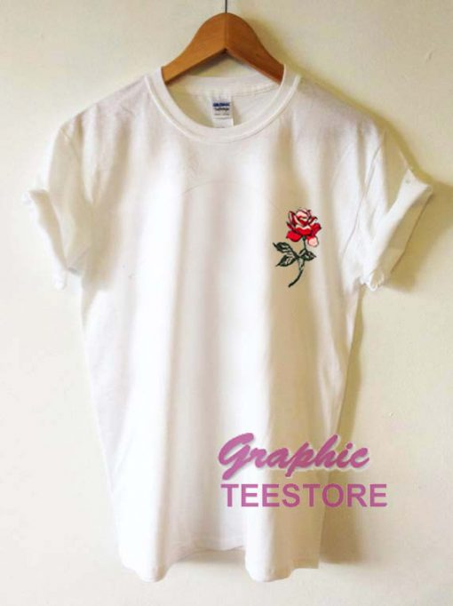 Flower Roses Graphic Tee Shirts
