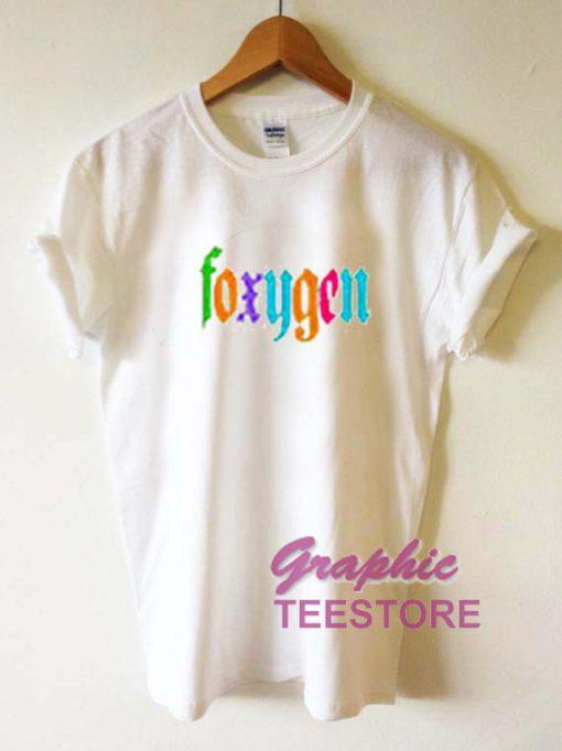 Foxygen Graphic Tee Shirts