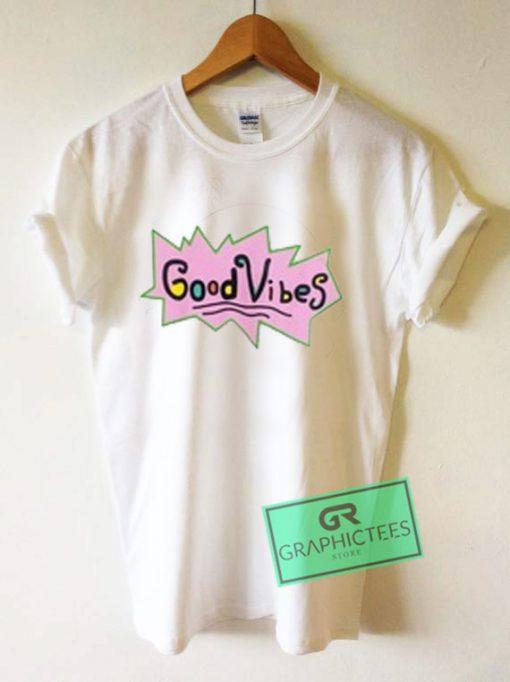 Good Vibes Rugrats Graphic Tees Shirts