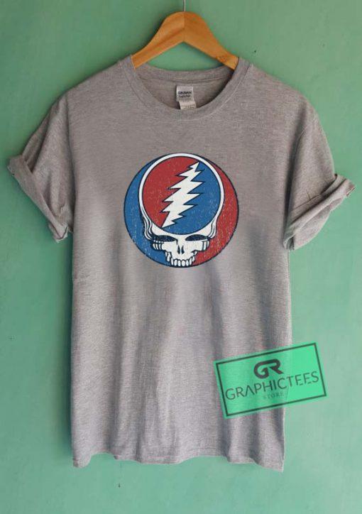 Grateful Dead Vintage Logo Graphic Tees Shirts